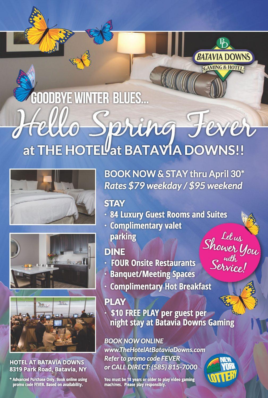 hbd-ad-spring - Batavia Downs Gaming & Hotel