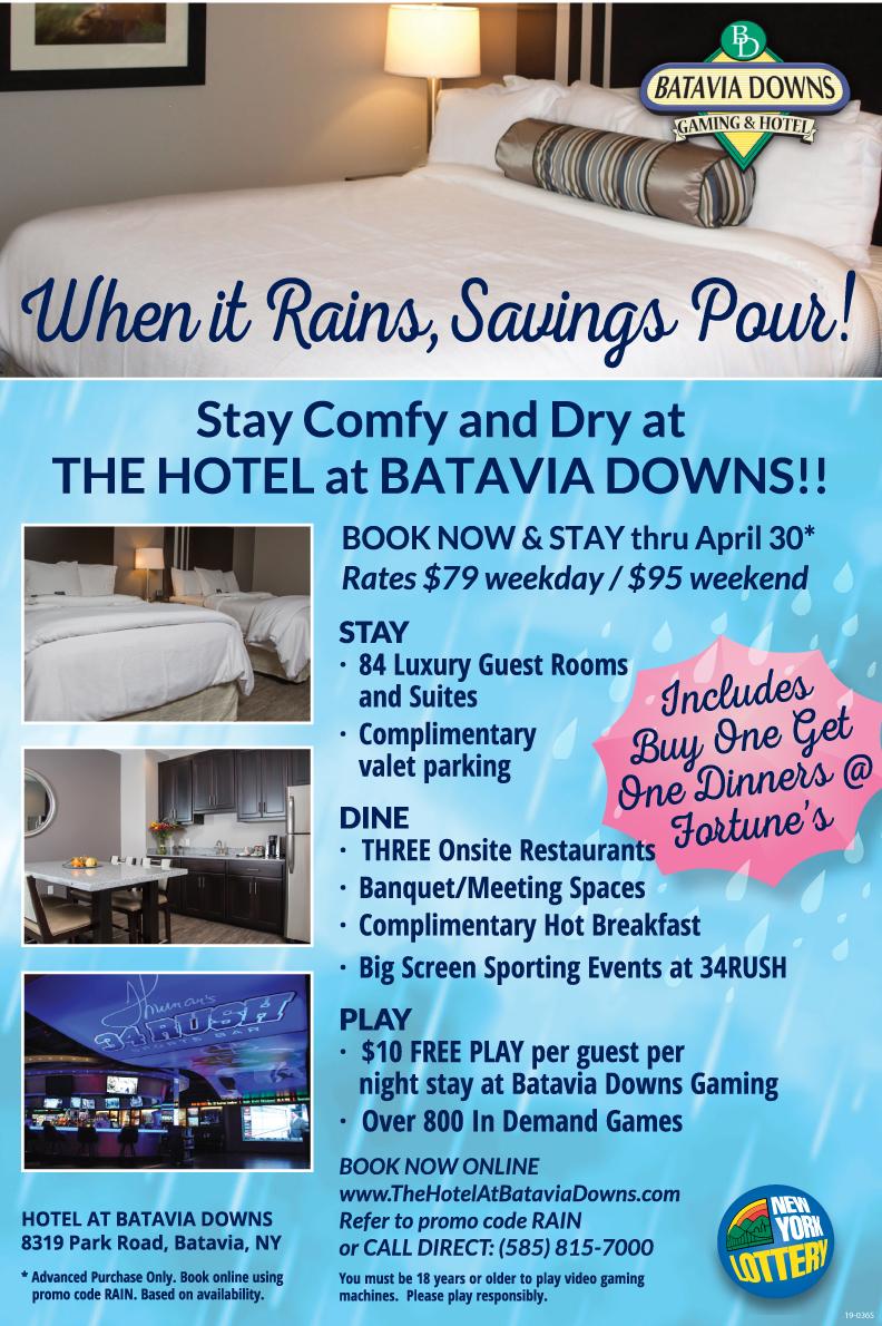 Apr-BDGW-Hotel-Ad-19-0365 - Batavia Downs Gaming & Hotel